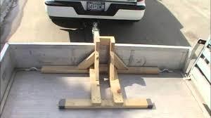 how to build a motorcycle wheel chock