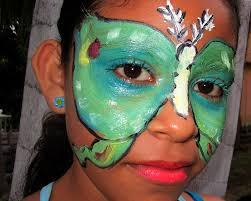 Adele Day of Dead Luna Moth Facepaint - Nancy-Jayne Moore