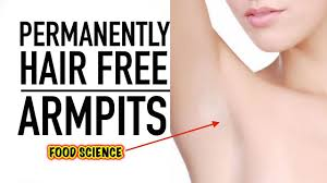 underarm hair removal tip how to