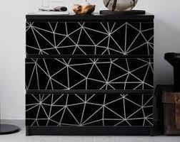 Malm Dresser Decal Etsy In 2020 Malm Dresser Ikea Malm Dresser Ikea Malm