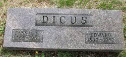 Fannie Letitia Gibson Dicus (1865-1954) - Find A Grave Memorial