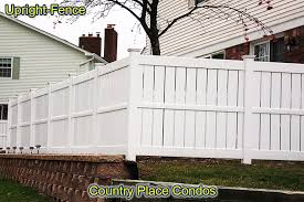 Condos And Apartments Upright Fence Of Westland Michigan