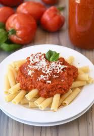 homemade canned spaghetti sauce recipe