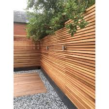 Candian Western Red Cedar Sertiwood Battens Screen Slats Fencing 21 Pack 1 65m2 Homebase