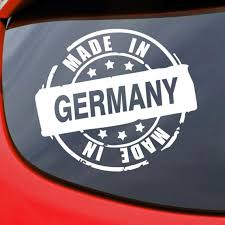 Made In Germany Stamp Car Decal Vinyl Sticker Window Etsy