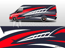 Car Decal Wrap Company Designs Vector Livery Wrap Company Van Cargo Truck Buy This Stock Illustration And Explore Similar Illustrations At Adobe Stock Adobe Stock