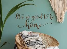 Home Sign Wall Decal