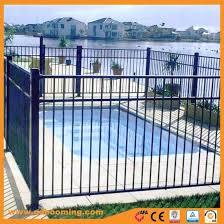 China Galvanized Powder Coated Iron Pool Fence Panels China Pool Fence Swimming Pool Fence