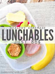 recipe healthy homemade lunchables