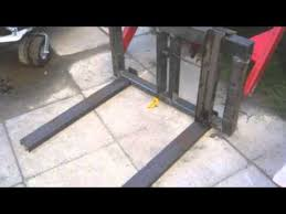 making pallet forks for my tractor