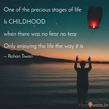 one of the precious stage quotes writings by rohan tiwari