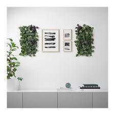 fejka konstgjord växt väggmonterad