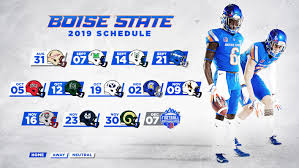 2019 Boise State football schedule released