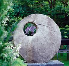 tranquil buddha stone statue