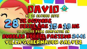 Tarjetas Virtuales Invitacion Pocoyo Facebook