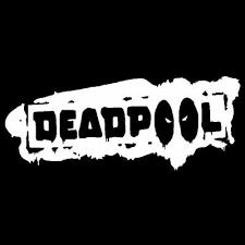 Deadpool Vinyl Decal Car Truck Window Sticker Comic Superhero Marvel Any Size Ushirika Coop