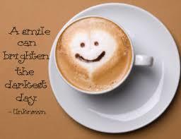 a smile can brighten the darkest day word art bie