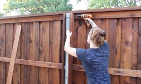 How To Build A Gate For A Fence And Boxes Around Steel Posts