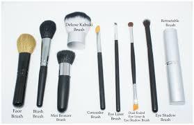 9pc mineral makeup brush set foundation