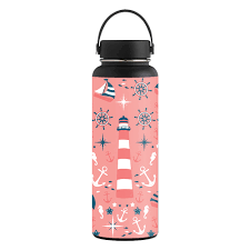 Skin Decal Wrap For Hydro Flask 40 Oz Wide Mouth Sticker Nautical Dream Walmart Com Walmart Com