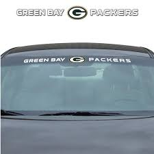Team Promark Green Bay Packers Windshield Decal In The Exterior Car Accessories Department At Lowes Com