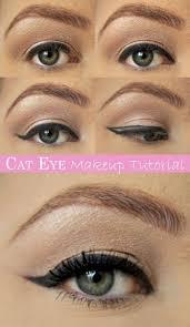 cat eye makeup tutorial pictures