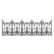 China Decoration Iron Fence Manufacturers Suppliers Factory Direct Wholesale Sinostar In 2020 Iron Fence Galvanized Decor Steel Fence
