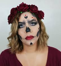 dia de los muertos makeup tutorial mua