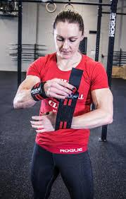 rogue wrist wraps black red rogue