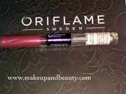 oriflame stay glam lip colour review