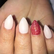 50 stylish acrylic short nail design ideas