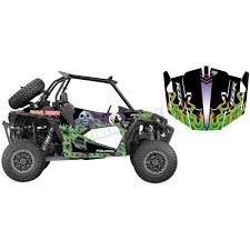 D Cor Visuals Grave Digger Utv Graphic Kit 20 60 102 Dennis Kirk