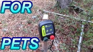 Diy Patriot Pe2 Electric Fence For Pets Youtube