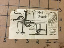 early solution the great nail puzzle