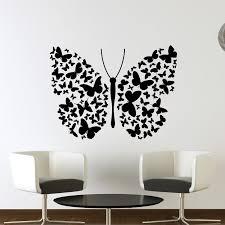 Butterflies Butterfly Wall Art Decals 75 01 Jpg 751 751 Wall Paint Designs Diy Wall Painting Butterfly Wall Art