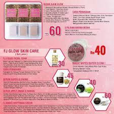 fj glow skincare health beauty