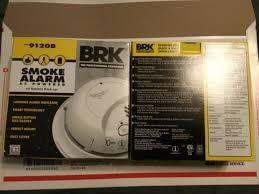 2 brk electronics 4120b smoke alarms