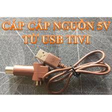 Bán Dây Cáp cấp nguồn 5V cho Anten KTS khuyếch đại từ cổng USB của Tivi
