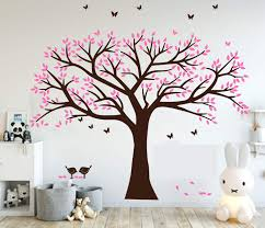 Vinyl Wall Decals For Living Room Tree Paintings India Girl Nursery Design Nz Art Family Target Quotes Vamosrayos