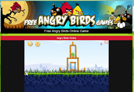 Play Angry Birds online - click here