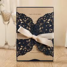Compre Inventario De Tarjetas De Invitacion De Azul Marino Con