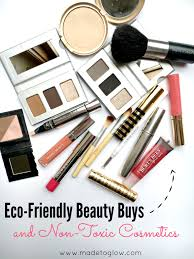 eco friendly makeup and beauty s