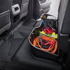 rear underseat storage organizer