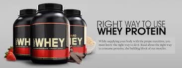 right way to use whey protein pre