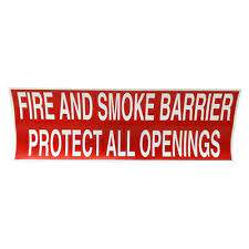 fire rated wall stickers for drywall