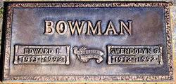 """Edward Ivan """"Bill"""" Bowman (1913-1992) - Find A Grave Memorial"""