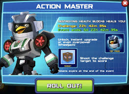 New Event – Action Master
