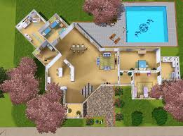 mod the sims modern house for a big