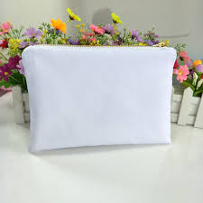 whole blank canvas cosmetic bags
