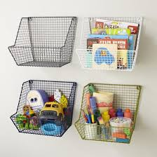 The Land Of Nod Kids Storage Wire Stacking Storage Collection In Storage Bins Kids Storage Kids Shelves Kids Room